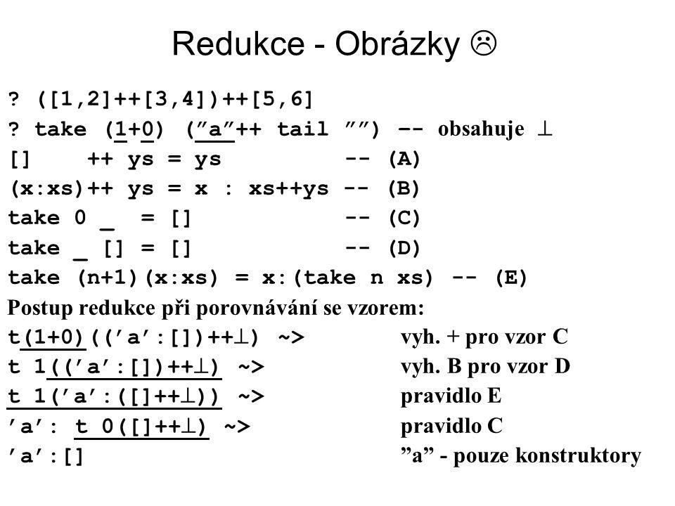Redukce - Obrázky  ([1,2]++[3,4])++[5,6]